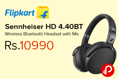 Sennheiser Hd 4 40bt Wireless Bluetooth Headset With Mic