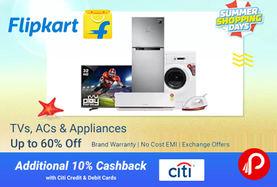 TVs, ACs and Appliances