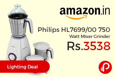 Philips HL7699/00 750 Watt Mixer Grinder
