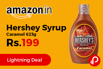 Hershey Syrup Caramel 623g