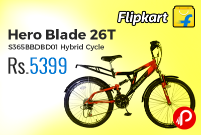Hero Blade 26T S365BBDBD01 Hybrid Cycle