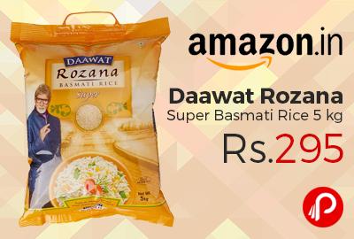 Daawat Rozana Super Basmati Rice 5 kg