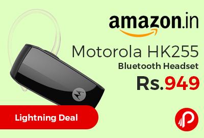 Motorola HK255 Bluetooth Headset