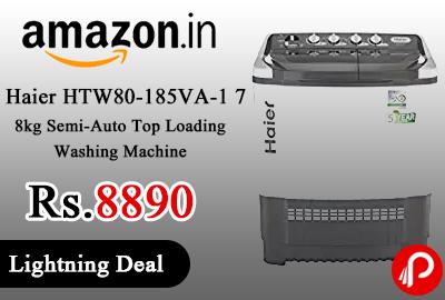 Haier HTW80-185VA-1 7.8kg Semi-Auto Top Loading Washing Machine