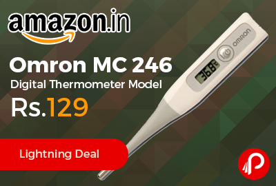 Omron MC 246 Digital Thermometer Model