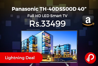"Panasonic TH-40DS500D 40"" Full HD LED Smart TV"