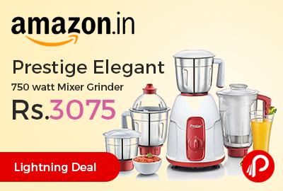 Prestige Elegant 750 watt Mixer Grinder