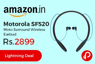 Motorola SF520 Moto Surround Wireless Earbud
