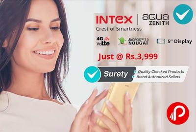 Intex Aqua Zenith 4G VoLTE