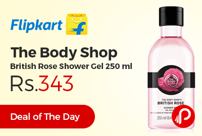 The Body Shop British Rose Shower Gel 250 ml