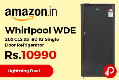 Whirlpool WDE 205 CLS 3S 190 ltr Single Door Refrigerator