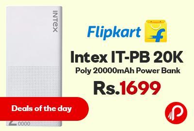 Intex IT-PB 20K Poly 20000mAh Power Bank