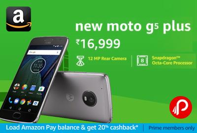 Moto G5 Plus New Mobile
