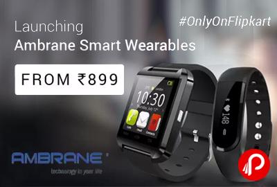 Ambrane Smart Wearables SmartWatch