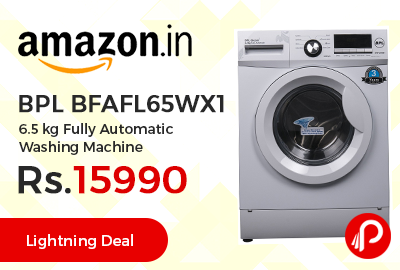 BPL BFAFL65WX1 6.5 kg Fully Automatic Washing Machine