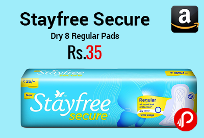 Stayfree Secure Dry 8 Regular Pads
