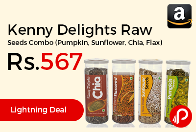 Kenny Delights Raw Seeds Combo