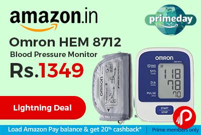 Omron HEM 8712 Blood Pressure Monitor