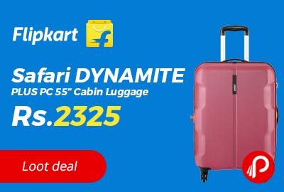 "Safari DYNAMITE PLUS PC 55"" Cabin Luggage"