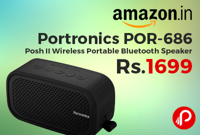 Portronics POR-686 Posh II Wireless Portable Bluetooth Speaker