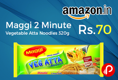 Maggi 2 Minute Vegetable Atta Noodles 320g