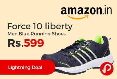 Force 10 liberty Men Blue Running Shoes