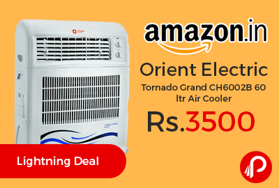 Orient Electric Tornado Grand CH6002B 60 ltr Air Cooler