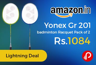 Yonex Gr 201 badminton Racquet Pack of 2