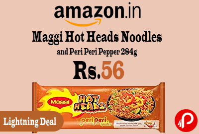 Maggi Hot Heads Noodles and Peri Peri Pepper 284g