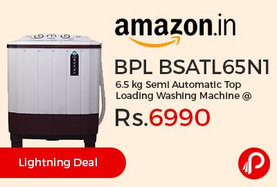 BPL BSATL65N1 6.5 kg Semi Automatic Top Loading Washing Machine