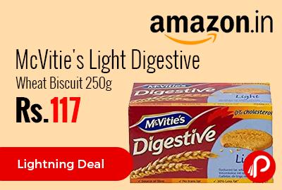 McVitie's Light Digestive Wheat Biscuit 250g