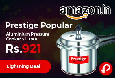 Prestige Popular Aluminium Pressure Cooker 3 Litres