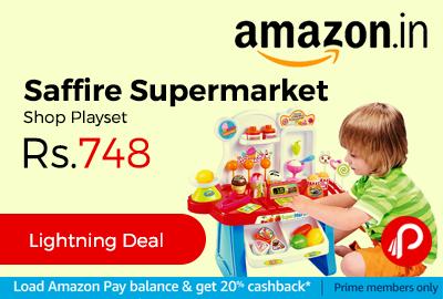 Saffire Supermarket Shop Playset