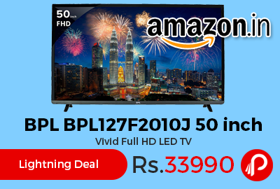 BPL BPL127F2010J 50 inch Vivid Full HD LED TV