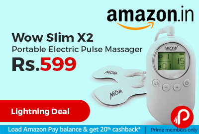 Wow Slim X2 Portable Electric Pulse Massager