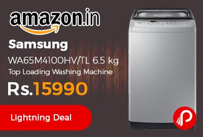 Samsung WA65M4100HV/TL 6.5 kg Top Loading Washing Machine