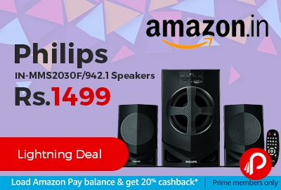 Philips IN-MMS2030F/94 2.1 Speakers