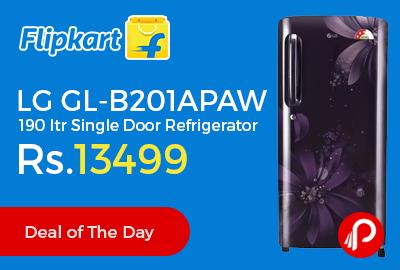 LG GL-B201APAW 190 ltr Single Door Refrigerator