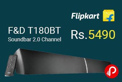 F&D T180BT Soundbar 2.0 Channel