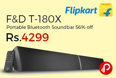 F&D T-180X Portable Bluetooth Soundbar