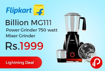 Billion MG111 Power Grinder 750 watt Mixer Grinder