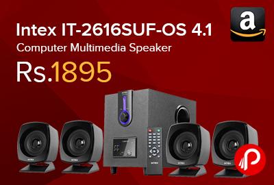 Intex IT-2616SUF-OS 4.1 Computer Multimedia Speaker