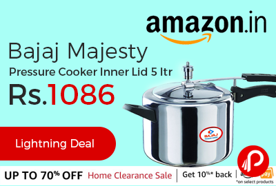 Bajaj Majesty Pressure Cooker Inner Lid 5 ltr