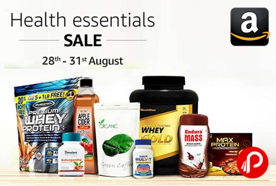 Health Essentials Sale 28th to 31th August