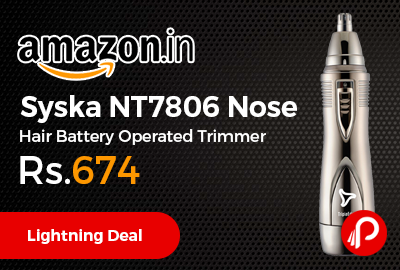 Syska NT7806 Nose Hair Battery Operated Trimmer