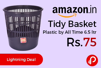 Tidy Basket Plastic by All Time 6.5 ltr