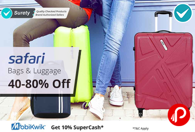Safari Bags and Luggage