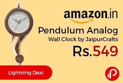 Pendulum Analog Wall Clock