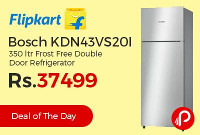 Bosch KDN43VS20I 350 ltr Frost Free Double Door Refrigerator
