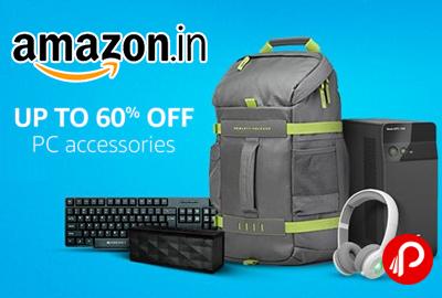 PC Accessories Upto 60% off